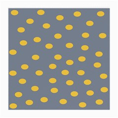 Limpet Polka Dot Yellow Grey Medium Glasses Cloth by Mariart