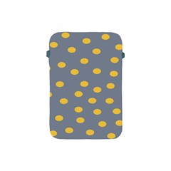 Limpet Polka Dot Yellow Grey Apple Ipad Mini Protective Soft Cases by Mariart