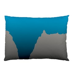 Mariana Trench Sea Beach Water Blue Pillow Case (two Sides) by Mariart
