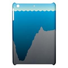 Mariana Trench Sea Beach Water Blue Apple Ipad Mini Hardshell Case by Mariart