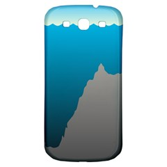 Mariana Trench Sea Beach Water Blue Samsung Galaxy S3 S Iii Classic Hardshell Back Case by Mariart
