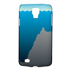 Mariana Trench Sea Beach Water Blue Galaxy S4 Active by Mariart