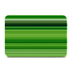 Horizontal Stripes Line Green Plate Mats by Mariart