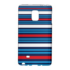 Martini Style Racing Tape Blue Red White Galaxy Note Edge by Mariart