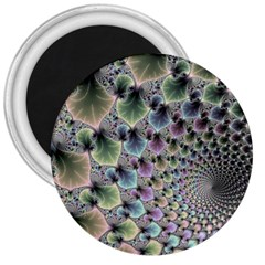 Beautiful Image Fractal Vortex 3  Magnets by Simbadda
