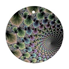 Beautiful Image Fractal Vortex Ornament (round)