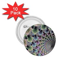 Beautiful Image Fractal Vortex 1 75  Buttons (10 Pack) by Simbadda