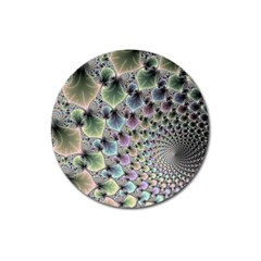 Beautiful Image Fractal Vortex Magnet 3  (round) by Simbadda