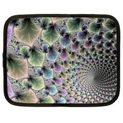 Beautiful Image Fractal Vortex Netbook Case (large) by Simbadda