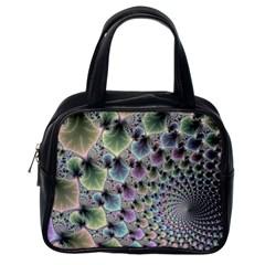 Beautiful Image Fractal Vortex Classic Handbags (one Side) by Simbadda