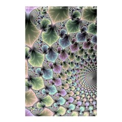 Beautiful Image Fractal Vortex Shower Curtain 48  X 72  (small)  by Simbadda