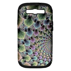 Beautiful Image Fractal Vortex Samsung Galaxy S Iii Hardshell Case (pc+silicone) by Simbadda