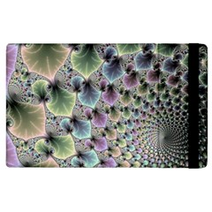 Beautiful Image Fractal Vortex Apple Ipad 2 Flip Case by Simbadda