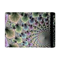 Beautiful Image Fractal Vortex Apple Ipad Mini Flip Case by Simbadda