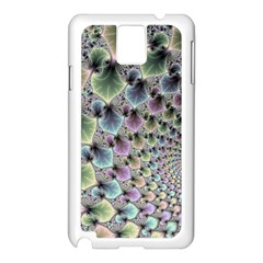 Beautiful Image Fractal Vortex Samsung Galaxy Note 3 N9005 Case (white) by Simbadda