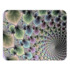 Beautiful Image Fractal Vortex Double Sided Flano Blanket (large)