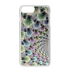 Beautiful Image Fractal Vortex Apple Iphone 7 Plus White Seamless Case by Simbadda