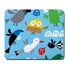 New Zealand Birds Close Fly Animals Large Mousepads by Mariart