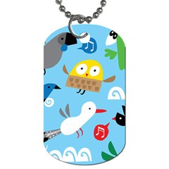 New Zealand Birds Close Fly Animals Dog Tag (two Sides) by Mariart