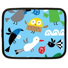New Zealand Birds Close Fly Animals Netbook Case (xxl)  by Mariart