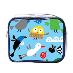 New Zealand Birds Close Fly Animals Mini Toiletries Bags by Mariart