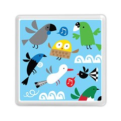 New Zealand Birds Close Fly Animals Memory Card Reader (square)  by Mariart