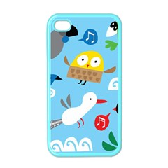 New Zealand Birds Close Fly Animals Apple Iphone 4 Case (color) by Mariart