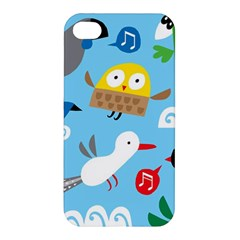 New Zealand Birds Close Fly Animals Apple Iphone 4/4s Hardshell Case by Mariart