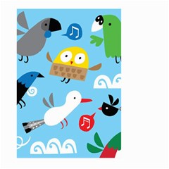 New Zealand Birds Close Fly Animals Large Garden Flag (two Sides) by Mariart