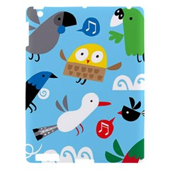 New Zealand Birds Close Fly Animals Apple Ipad 3/4 Hardshell Case by Mariart