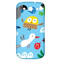 New Zealand Birds Close Fly Animals Samsung Galaxy S3 S Iii Classic Hardshell Back Case by Mariart