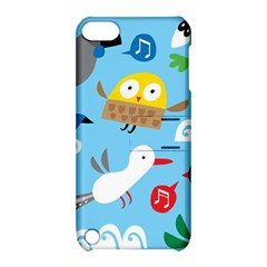 New Zealand Birds Close Fly Animals Apple Ipod Touch 5 Hardshell Case With Stand by Mariart