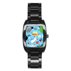 New Zealand Birds Close Fly Animals Stainless Steel Barrel Watch by Mariart