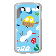 New Zealand Birds Close Fly Animals Samsung Galaxy Grand Duos I9082 Case (white) by Mariart