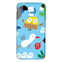 New Zealand Birds Close Fly Animals Samsung Galaxy S5 Back Case (white) by Mariart