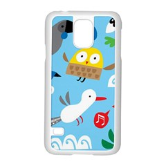 New Zealand Birds Close Fly Animals Samsung Galaxy S5 Case (white) by Mariart