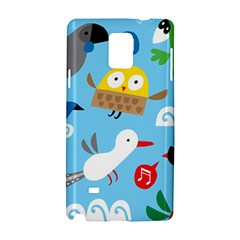 New Zealand Birds Close Fly Animals Samsung Galaxy Note 4 Hardshell Case by Mariart