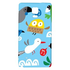 New Zealand Birds Close Fly Animals Galaxy Note 4 Back Case by Mariart