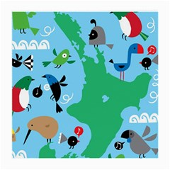 New Zealand Birds Detail Animals Fly Medium Glasses Cloth by Mariart