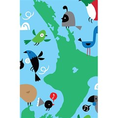 New Zealand Birds Detail Animals Fly 5 5  X 8 5  Notebooks by Mariart