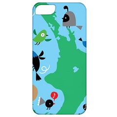 New Zealand Birds Detail Animals Fly Apple Iphone 5 Classic Hardshell Case by Mariart