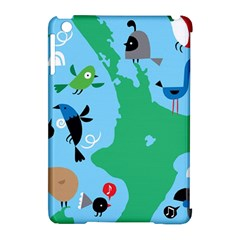 New Zealand Birds Detail Animals Fly Apple Ipad Mini Hardshell Case (compatible With Smart Cover) by Mariart