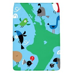 New Zealand Birds Detail Animals Fly Flap Covers (s)  by Mariart