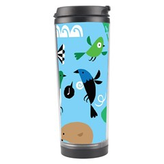 New Zealand Birds Detail Animals Fly Travel Tumbler by Mariart