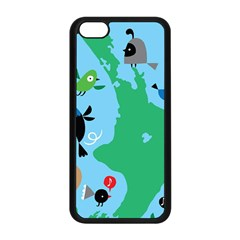 New Zealand Birds Detail Animals Fly Apple Iphone 5c Seamless Case (black) by Mariart