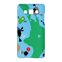 New Zealand Birds Detail Animals Fly Samsung Galaxy A5 Hardshell Case  by Mariart