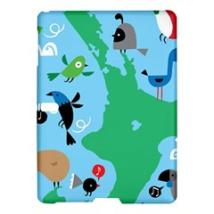 New Zealand Birds Detail Animals Fly Samsung Galaxy Tab S (10 5 ) Hardshell Case  by Mariart