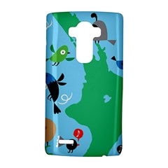 New Zealand Birds Detail Animals Fly Lg G4 Hardshell Case by Mariart