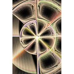 Background With Fractal Crazy Wheel 5 5  X 8 5  Notebooks by Simbadda