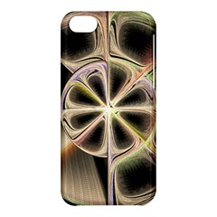 Background With Fractal Crazy Wheel Apple Iphone 5c Hardshell Case by Simbadda